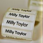 NAME TAPES/SCHOOL LABELS X 100 labels